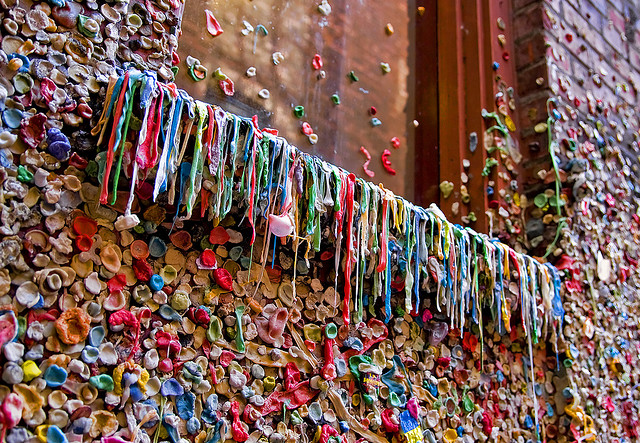 Chewing Gum Wall in California 7
